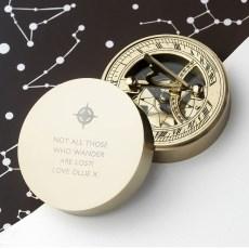Iconic Adventurers Sundial Compass