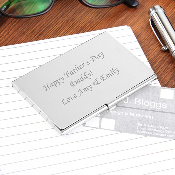 Personalised business card holder specialmoment business card holder colourmoves