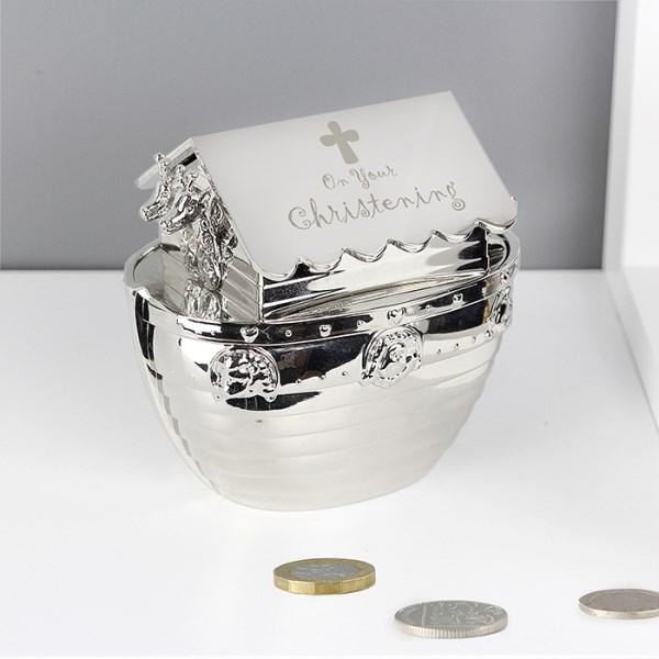 Christening Noah S Ark Money Box Specialmoment Co Uk