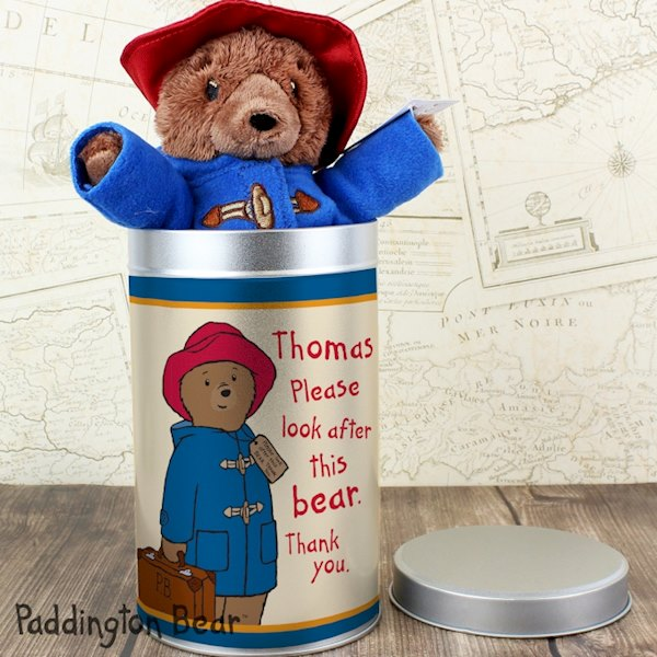 Paddington Bear in a Tin