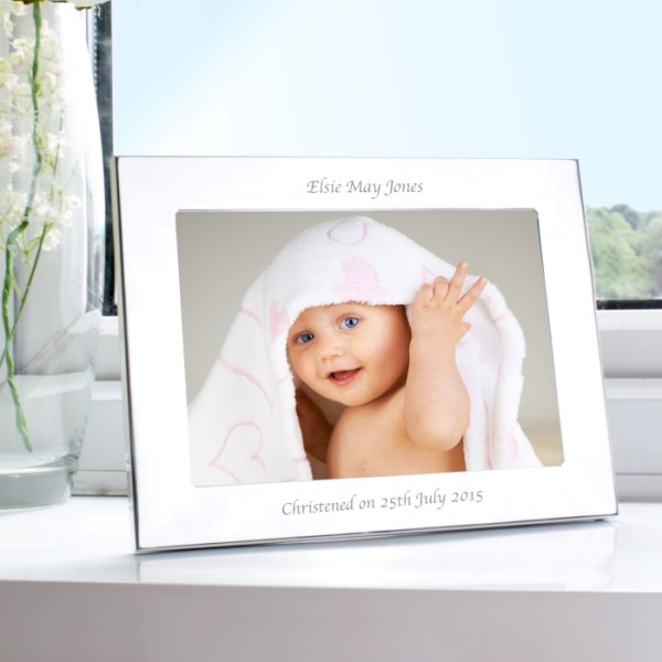Silver 7x5 Landscape Photo Frame
