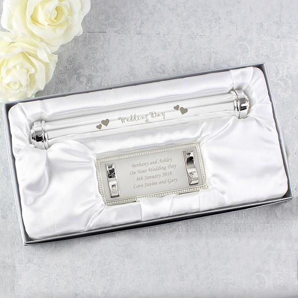Wedding Day Certificate Holder