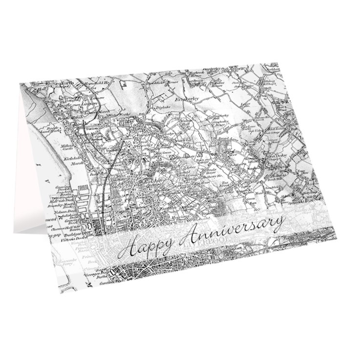 1805 - 1874 Old Series Map Card