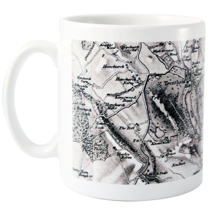 1805 - 1874 Old Series Map Mug