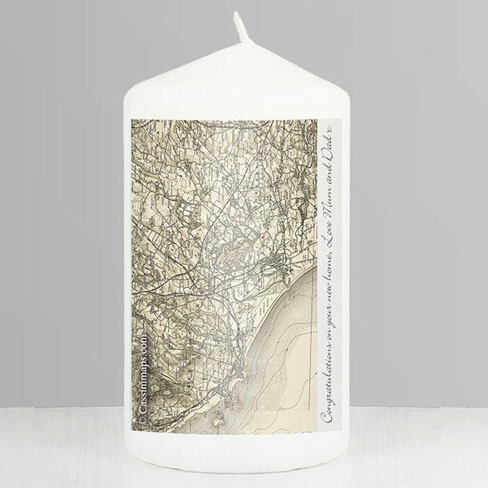 1896 - 1904 Revised New Map Candle