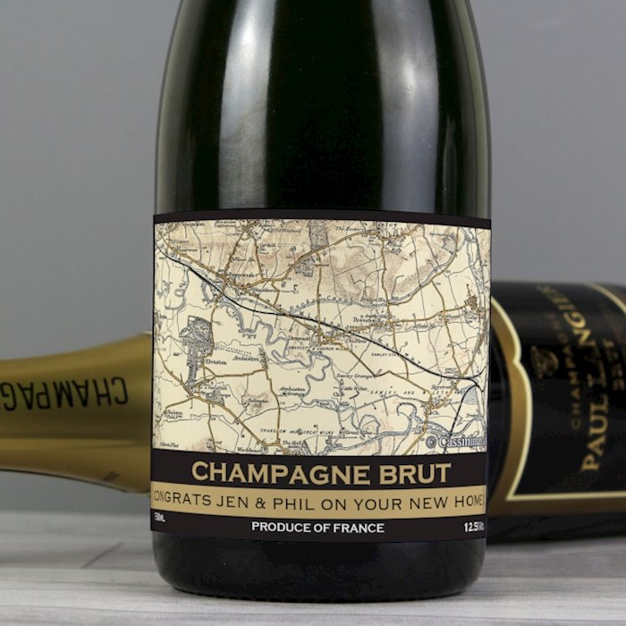 1896 - 1904 Revised New Map Champagne