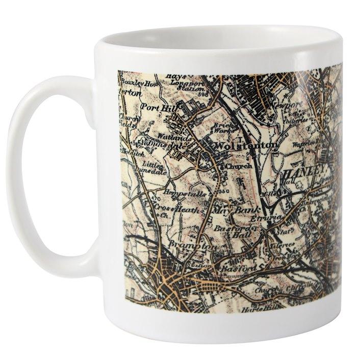 1896 - 1904 Revised New Map Mug