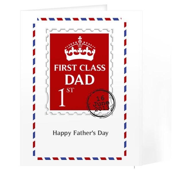 1st Class Card