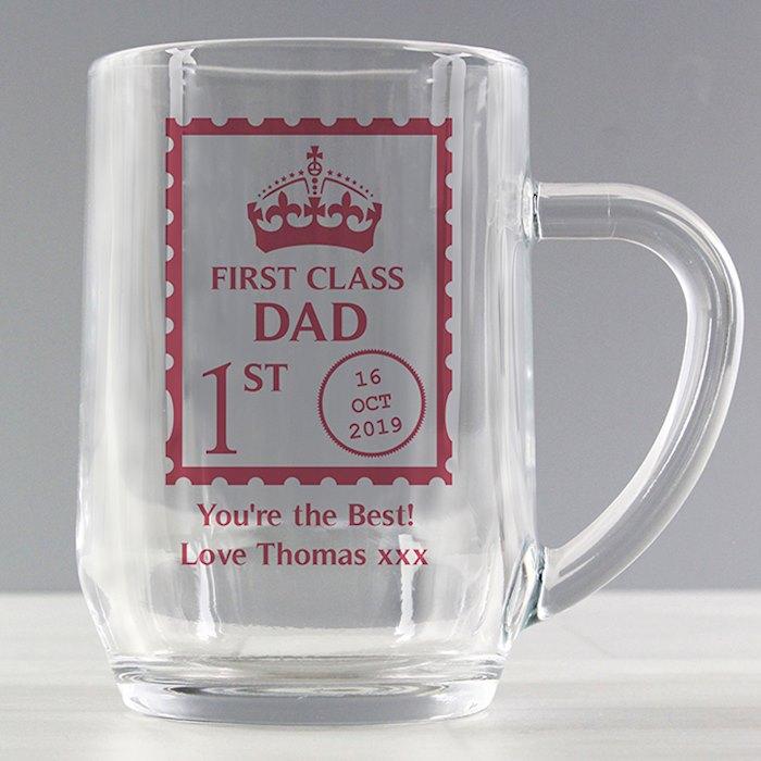 1st Class Glass Tankard