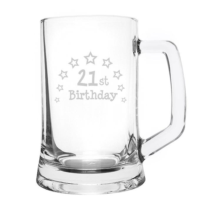 21st Birthday Stern Tankard