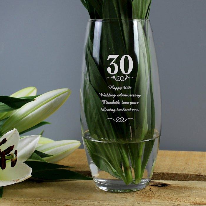 30 Years Bullet Vase