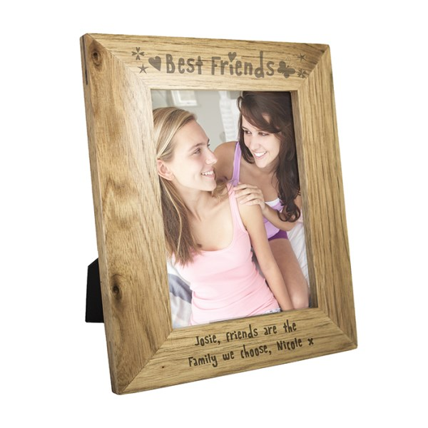 5x7 best friends wooden photo frame specialmoment co uk