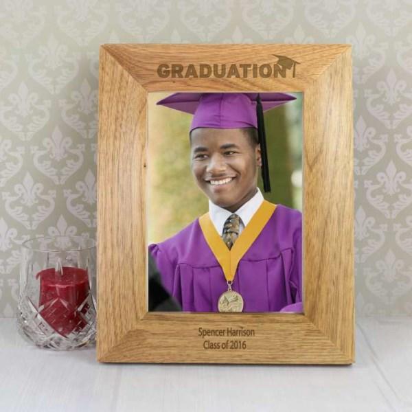 5x7 Graduation Wooden Photo Frame