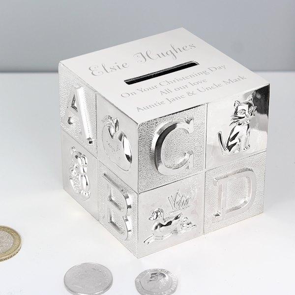Large Name ABC Money Box
