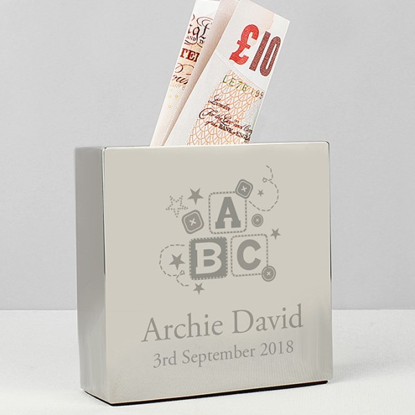 ABC Square Money Box