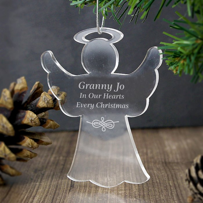 Acrylic Angel Decoration