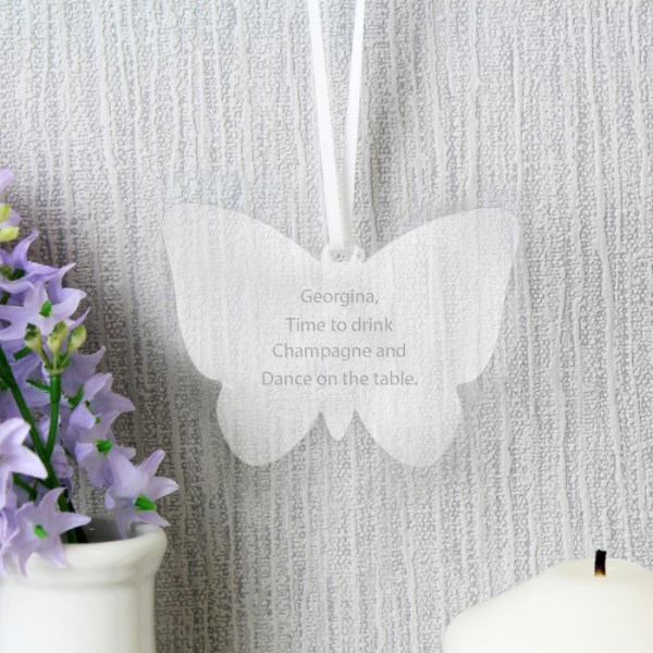 Acrylic Butterfly Decoration