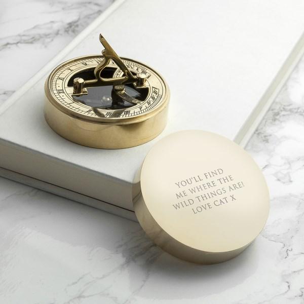 Adventurer's Sundial and Compass