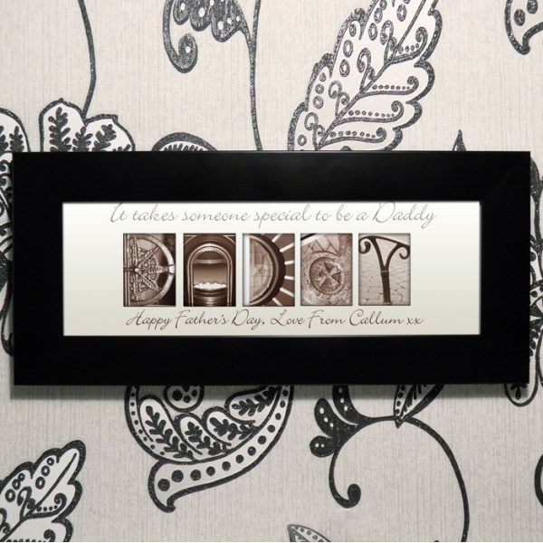 Affection Art Daddy Small Frame