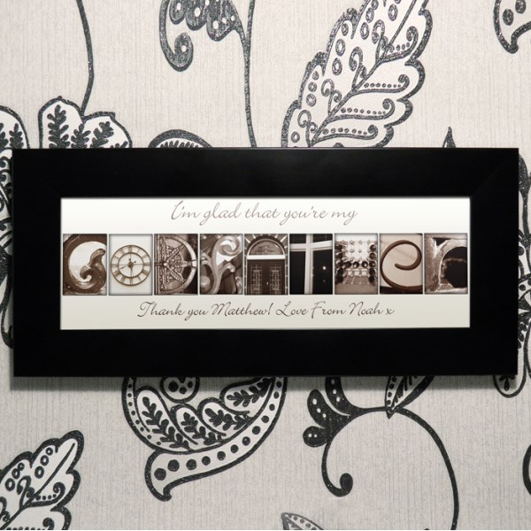 Affection Art Godfather Small Frame