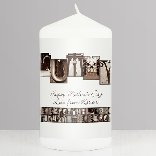 Affection Art Mummy Candle