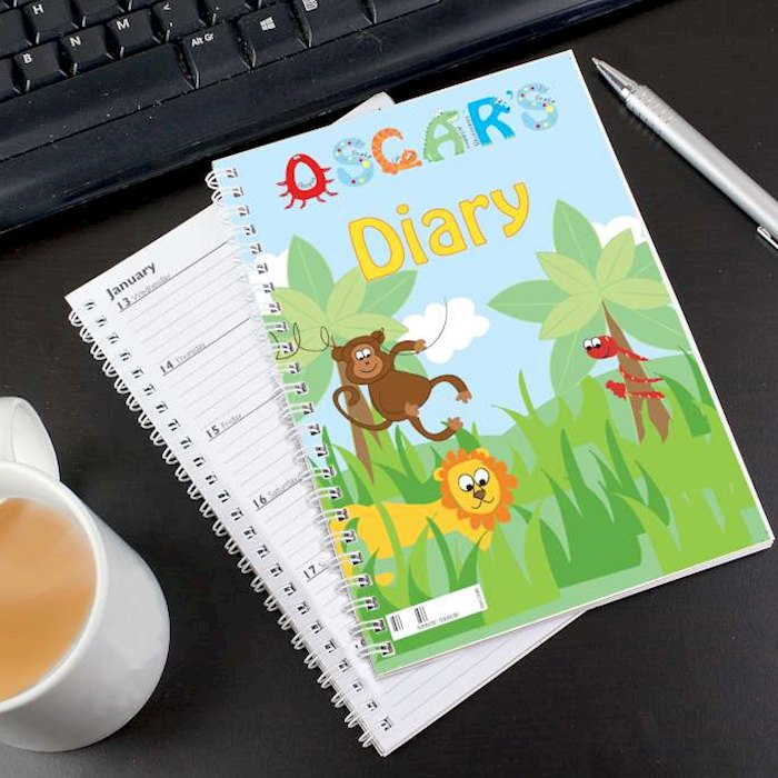 Animal Alphabet - A5 Diary
