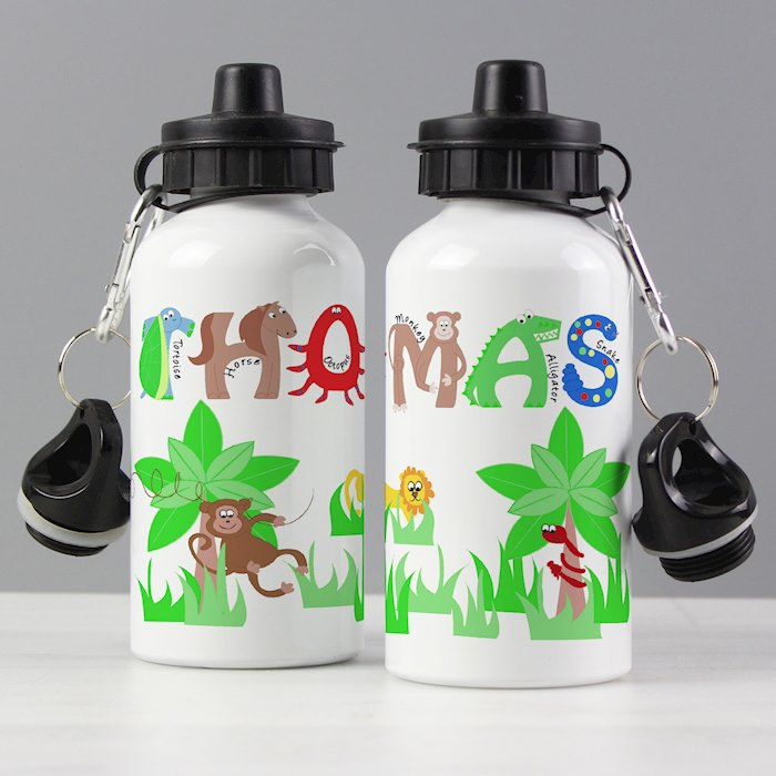 Animal Alphabet Drinks Bottle Boys