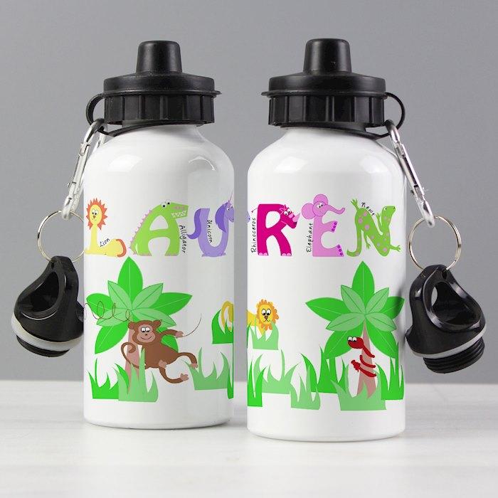 Animal Alphabet Drinks Bottle Girls