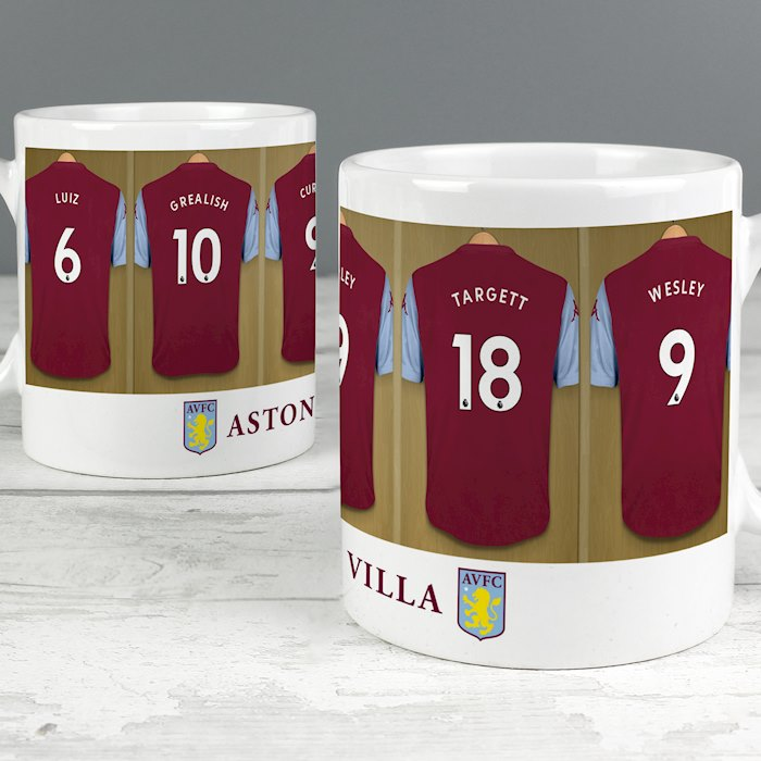 Aston Villa FC Dressing Room Mug