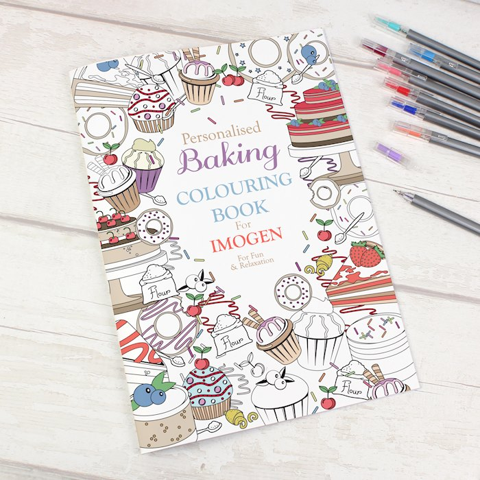 Baking Colouring Book