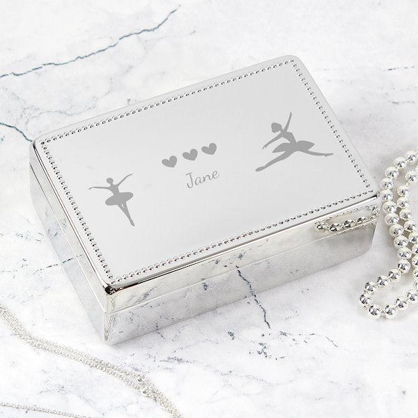 Ballerina Rectangular Jewellery Box