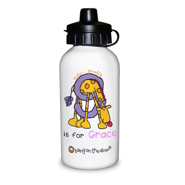 Bang On The Door Animal Alphabet Girls Drinks Bottle