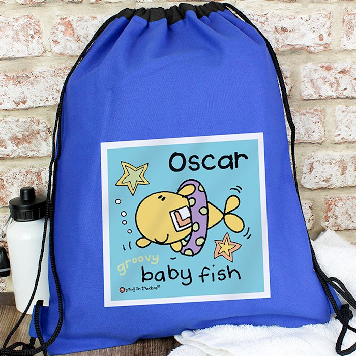 Bang On The Door Baby Fish Boys Swim & Kit Bag