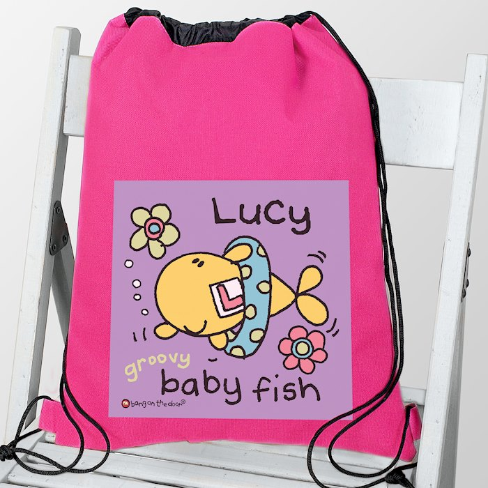 Bang On The Door Baby Fish Girls Swim & Kit bag
