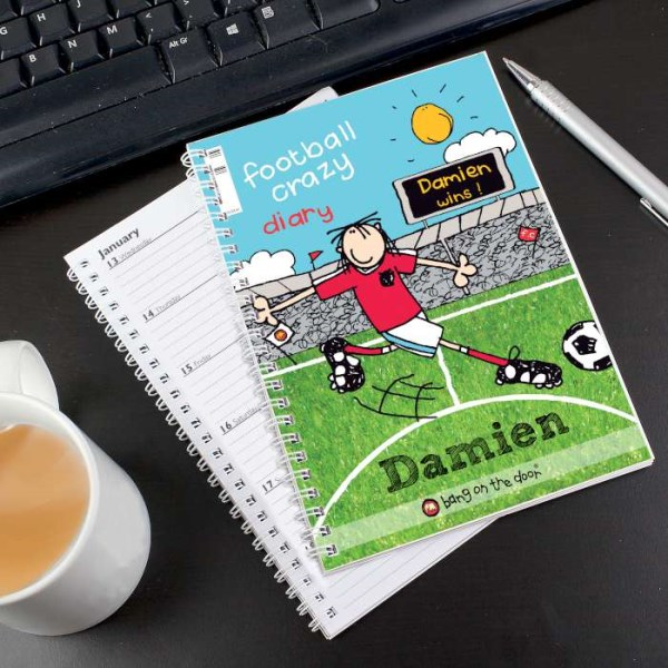Bang on the Door Football Crazy A5 Diary