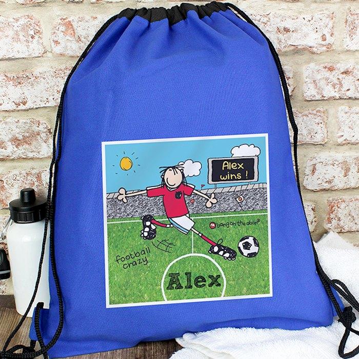 Bang On The Door Football Crazy Swim & Kit Bag