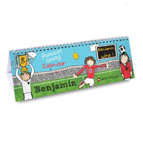 Bang On The Door Football Desk Calendar