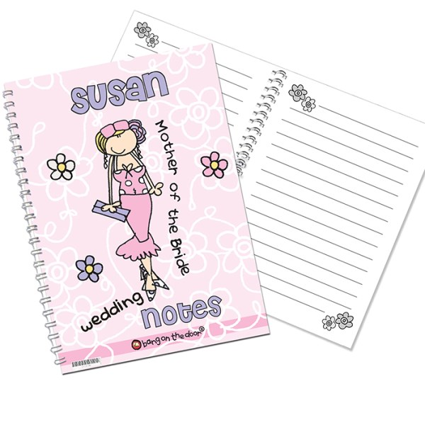 Bang on the Door Wedding Female A5 Notebook