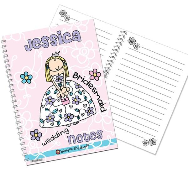 Bang on the Door Wedding Girls A5 Notebook