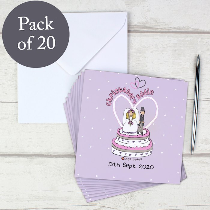 Bang on the Door Wedding Invitations 20 Pack