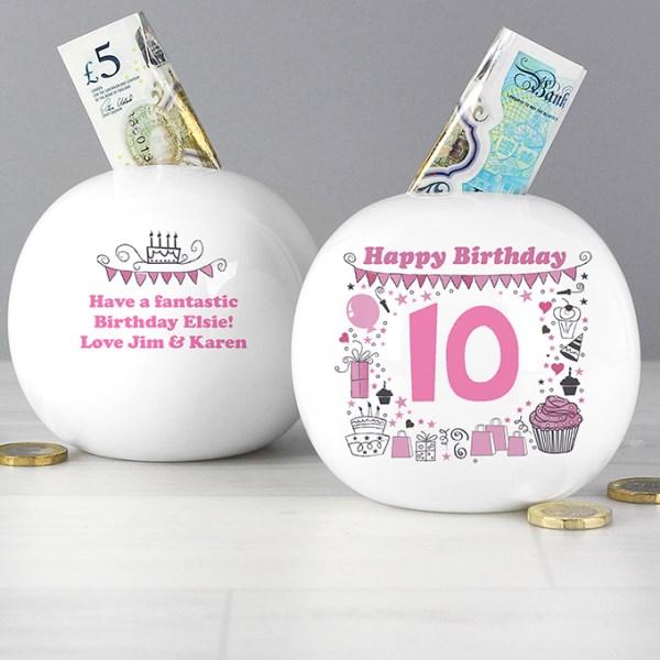 Big Age Girl Money Box