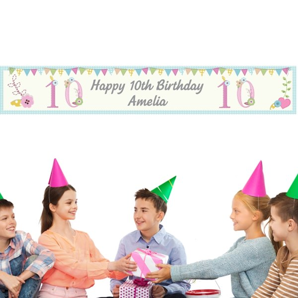 Birthday Craft Banner