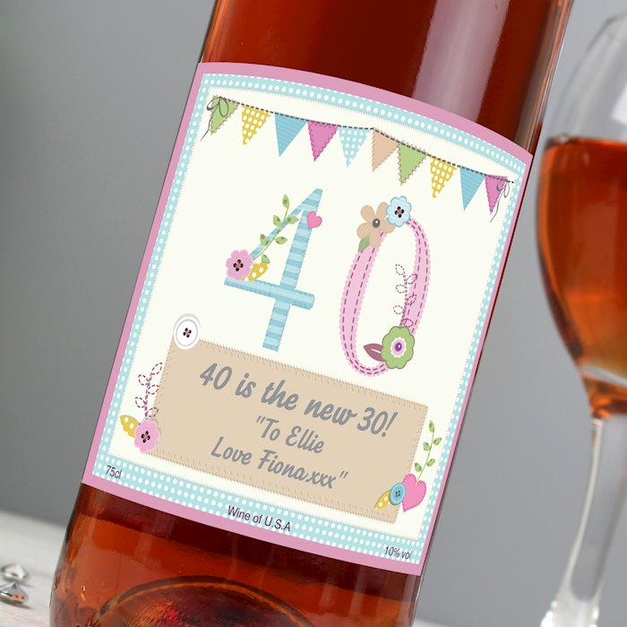 Birthday Craft Rose Wine