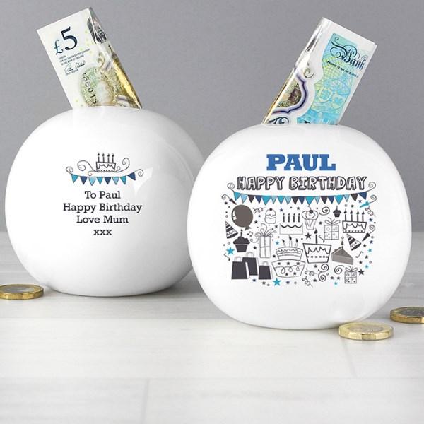 Birthday Money Box