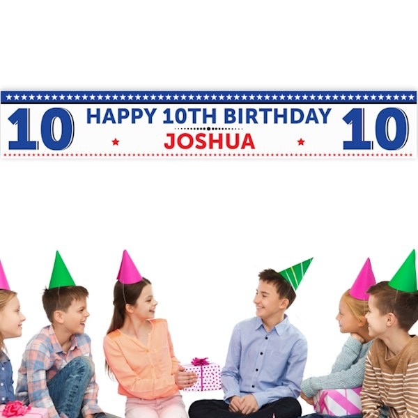 Birthday Star Banner