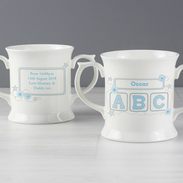 Blue ABC Loving Mug