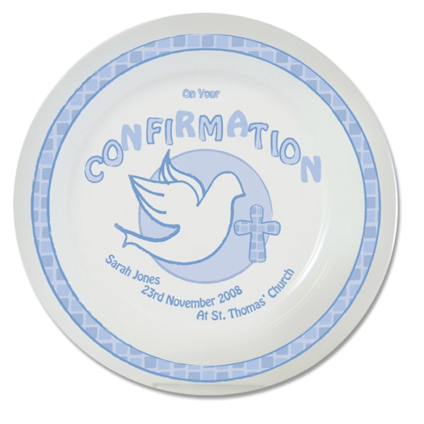 Blue Confirmation Plate