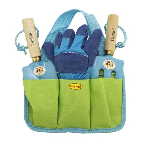 Blue Gardening Tool Kit