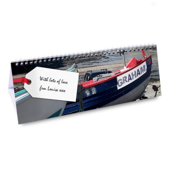 Boats Desk Calendar