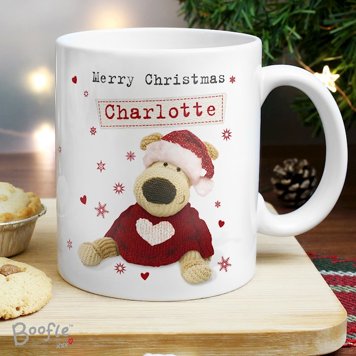 Boofle Christmas Love Mug